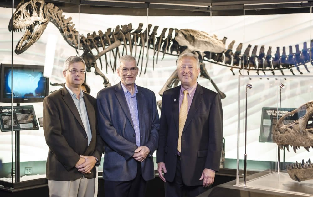 Dr. Andrew Snelling, Ken Ham, and Michael Peroutka