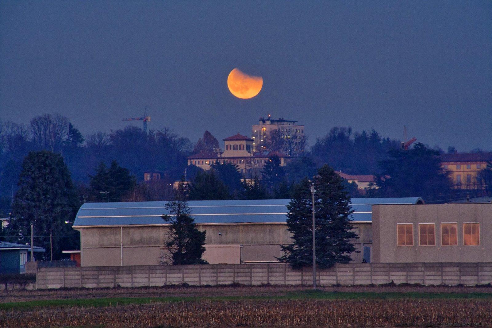 Lunar eclpise