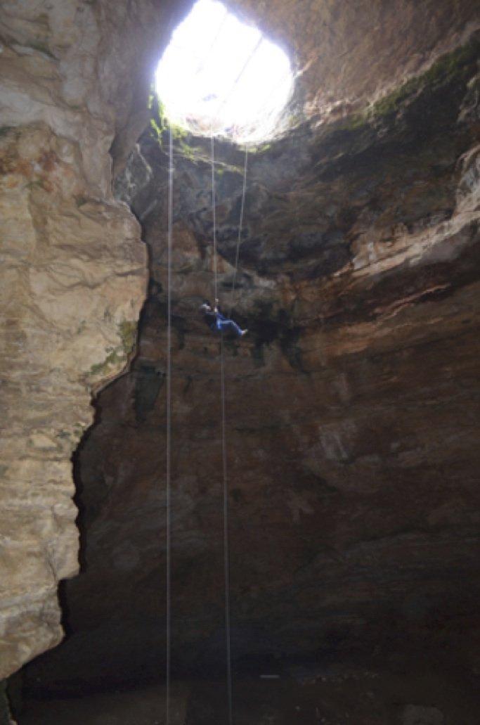 natural trap cave