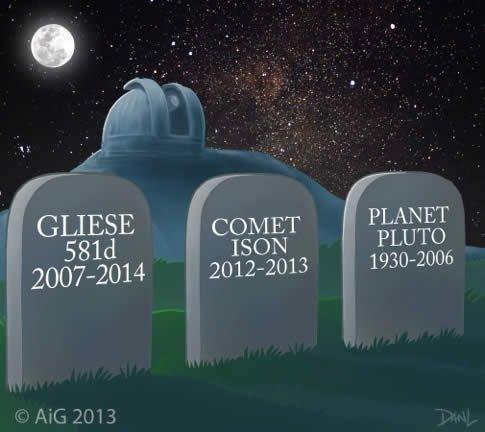 Astronomy Cemetery