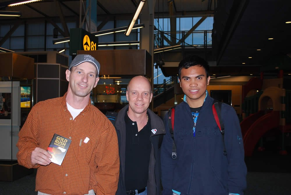Scott Seigman with Scott Hamilton