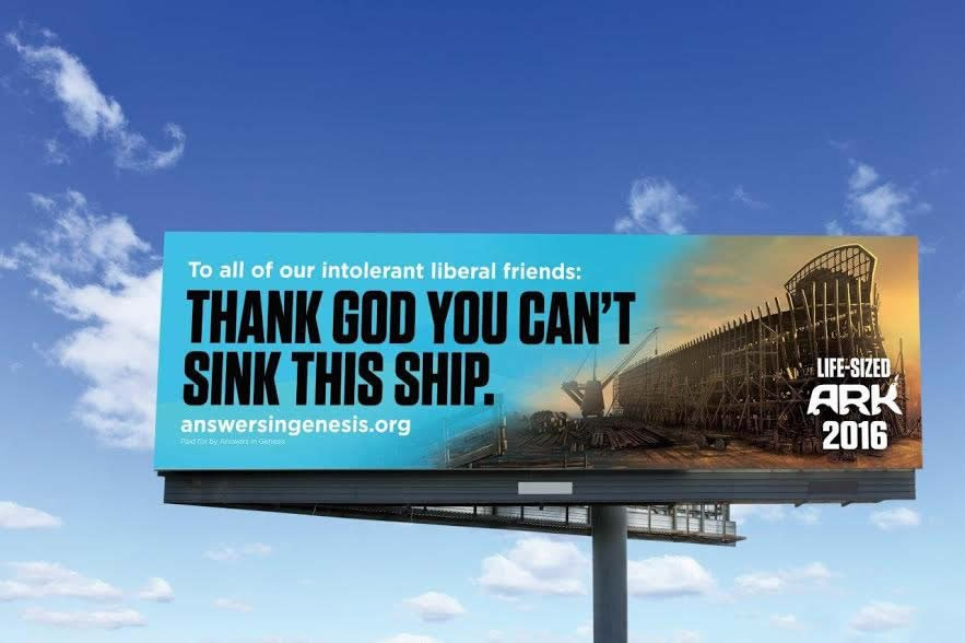 Answers in Genesis Billboard Campaign