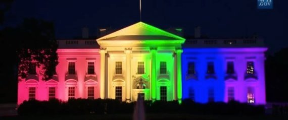 White House Goes Rainbow