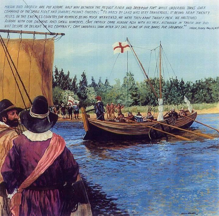 Mystick Putting Ashore