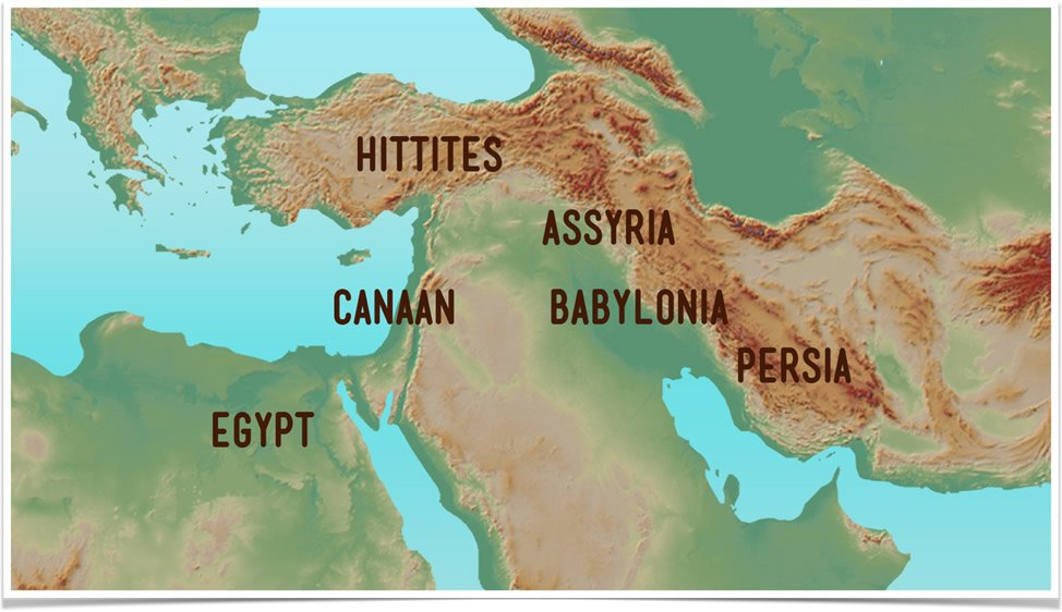 Map of Ancient Near East