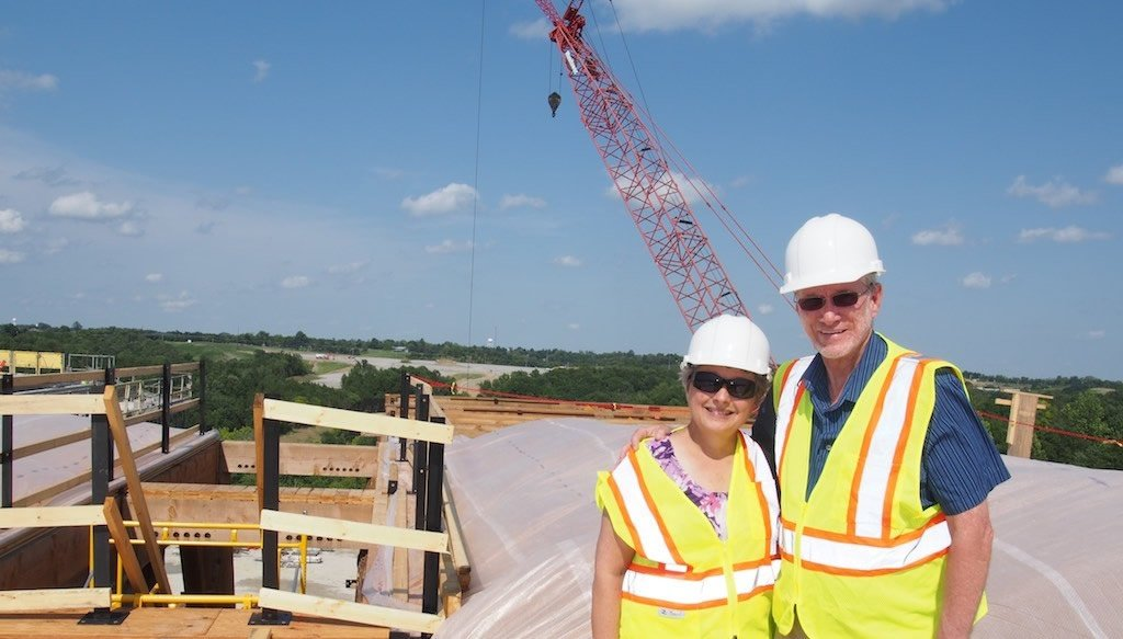 Ken and Mally Ham at Ark Site