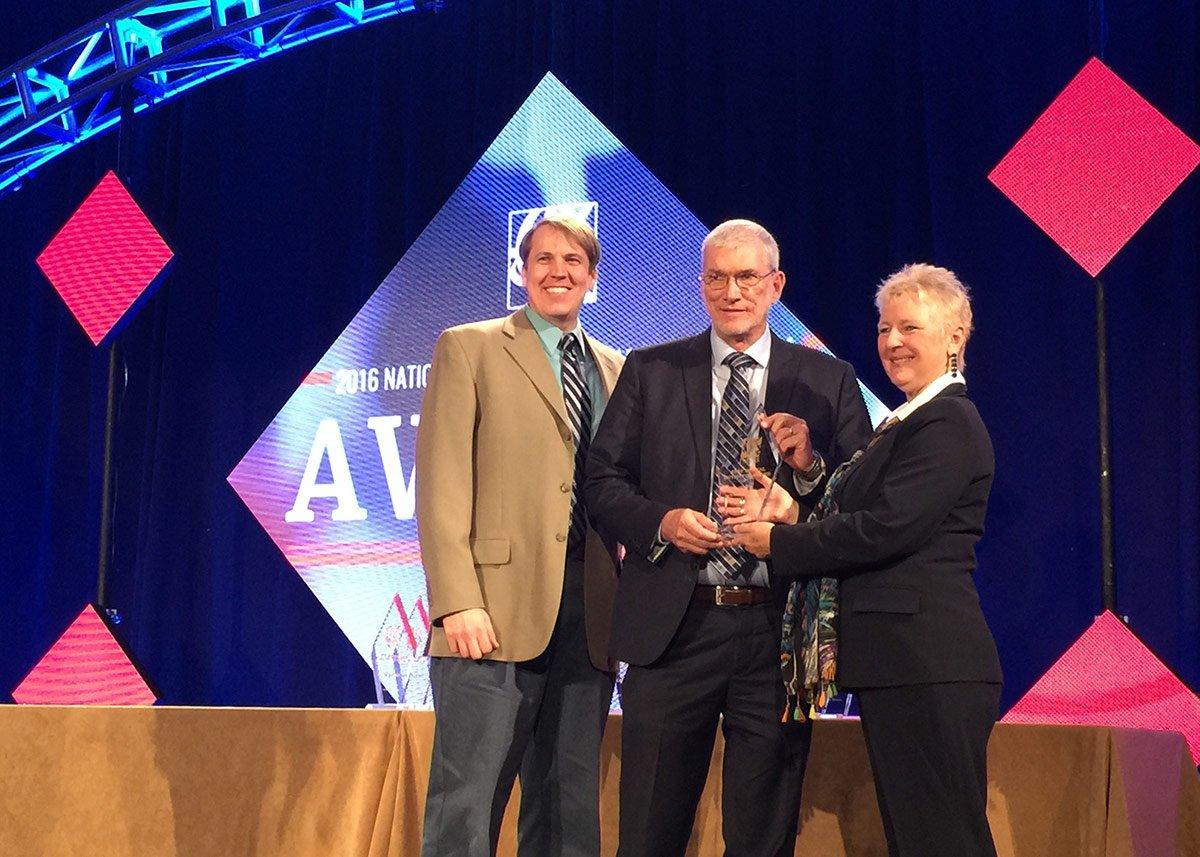 Ken Ham and Dan Zordel Receiving NRB Award