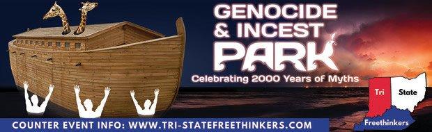 Tri-State Freethinkers Park Billboard