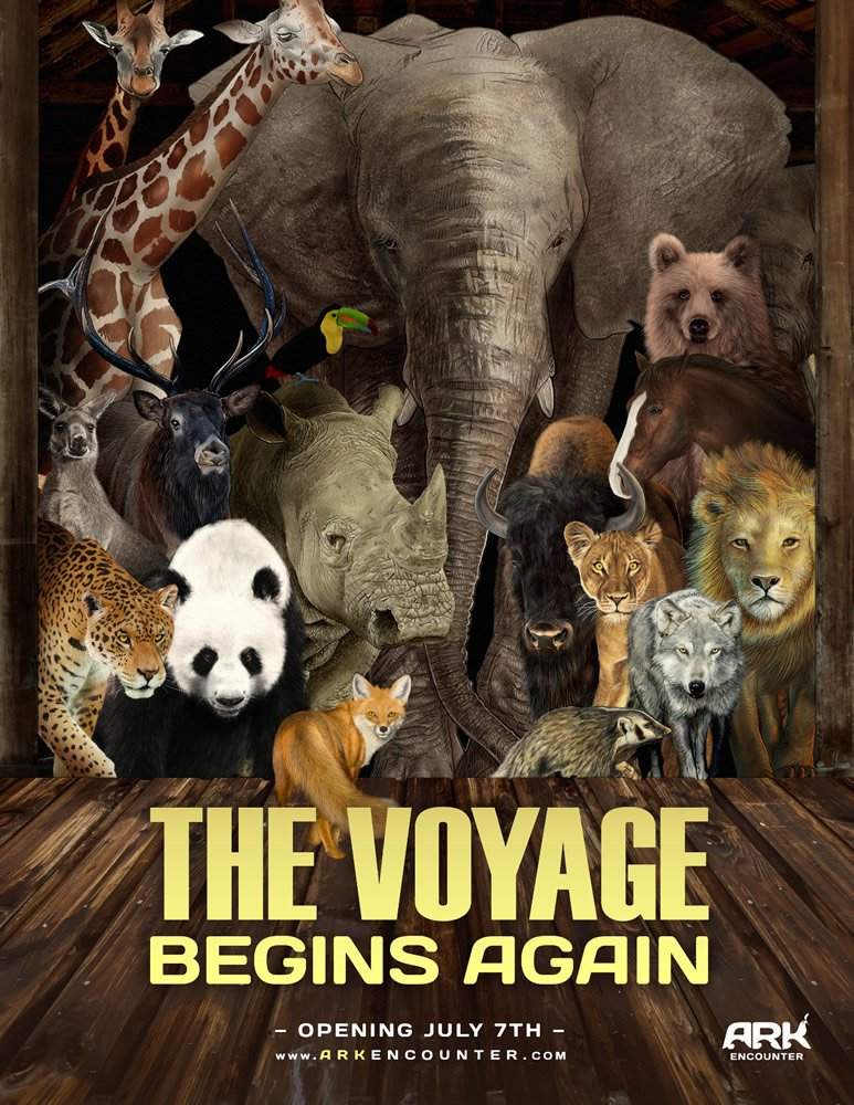 The Voyage Begins Again