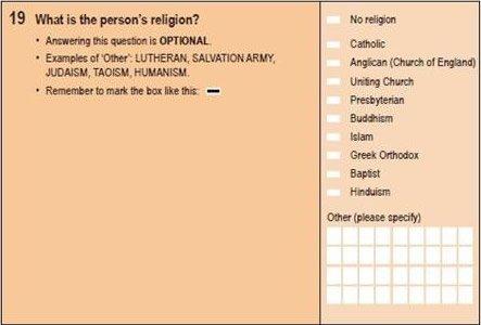 Census Survey Question 19