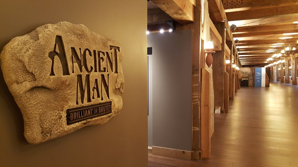 Ancient Man Exhibit