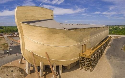 Ark Encounter from Port Bow