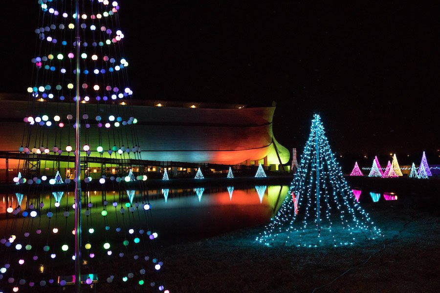Christmas Lights at Ark Encounter