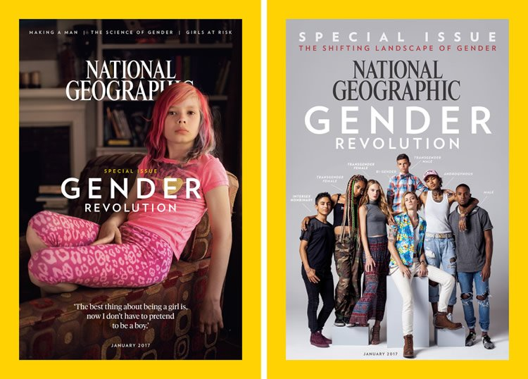 National Geographic Gender Issue