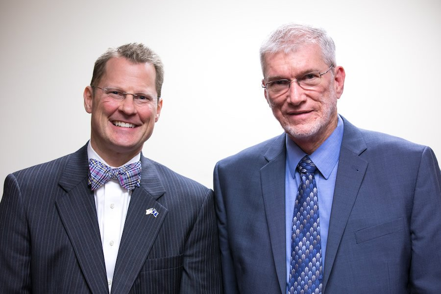 Ken Ham with Kevin Bryant