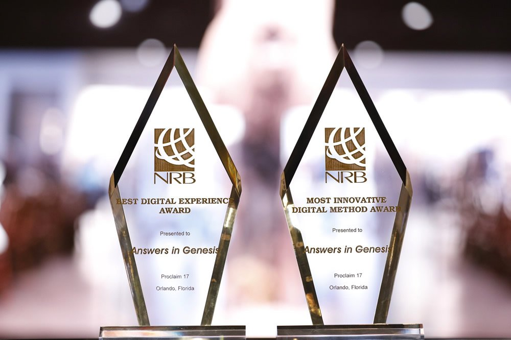 Two NRB Awards for Answers in Genesis