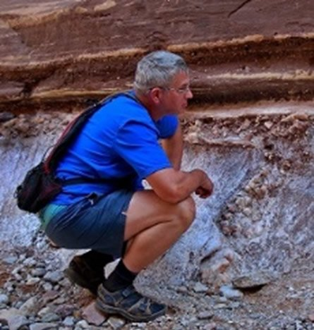 Dr. Andrew Snelling in Grand Canyon