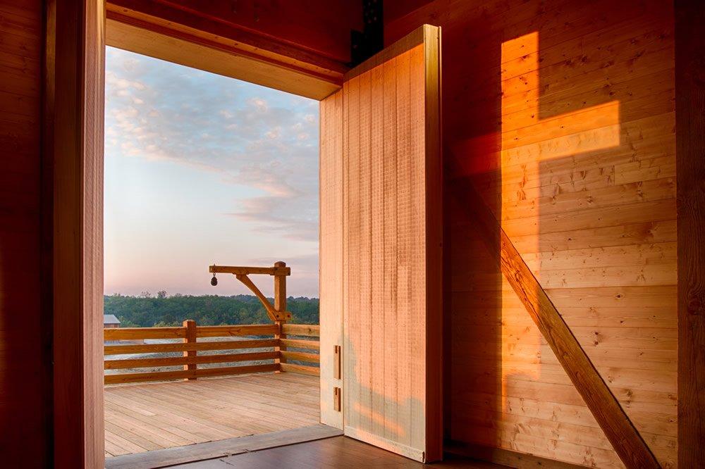 Ark Door with Cross