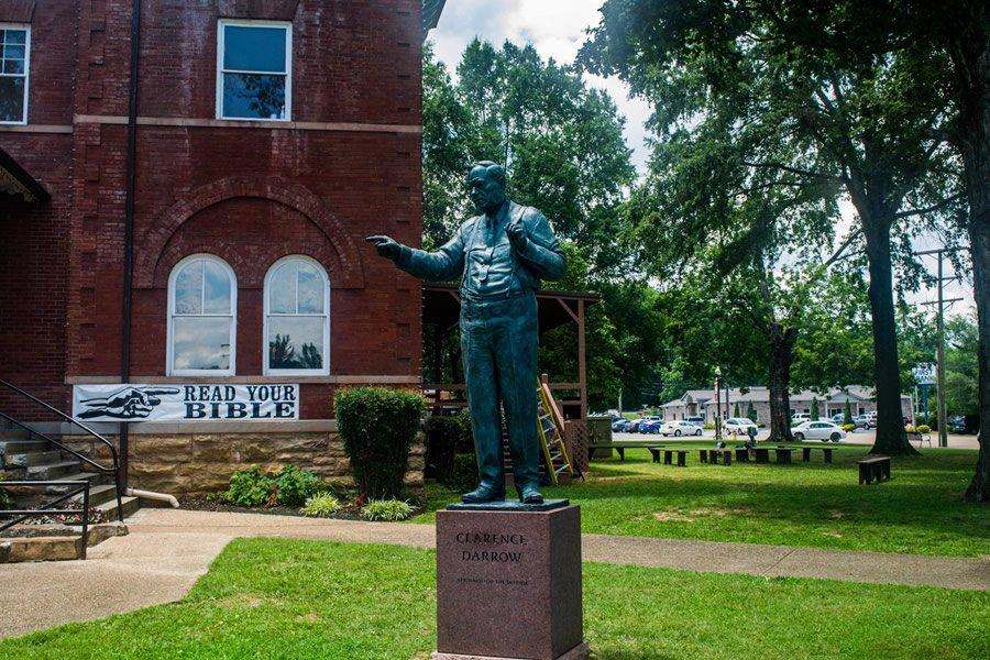 Clarence Darrow Statue