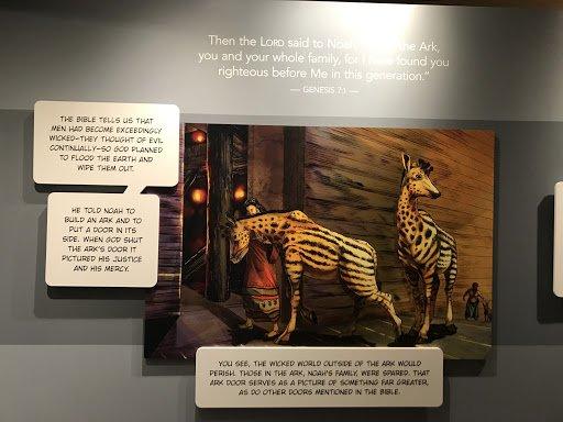 Animals at Ark Door
