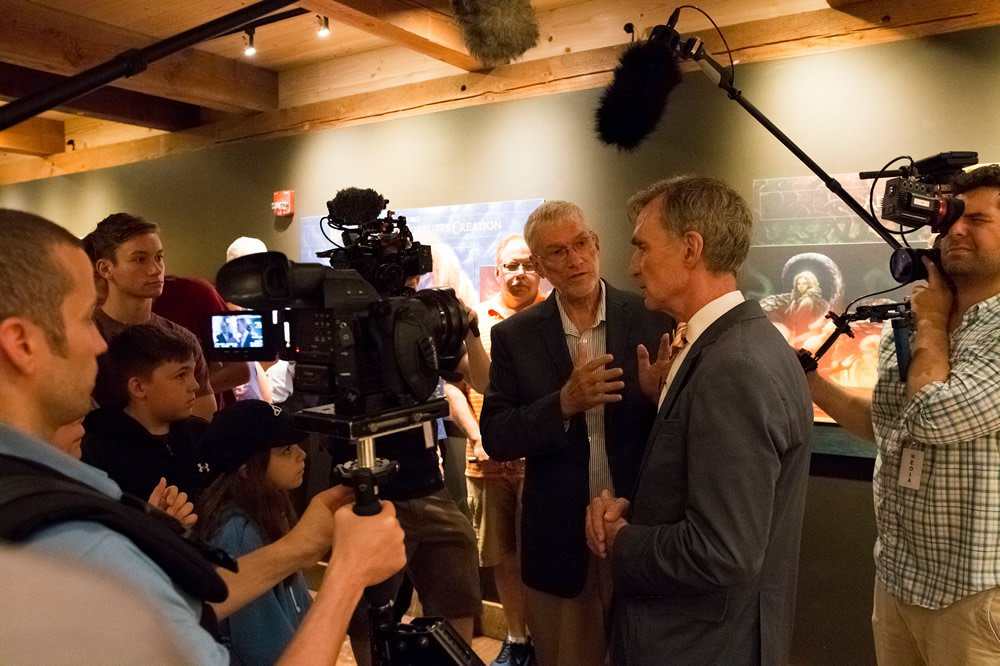 Bill Nye and Ken Ham at Ark Encounter