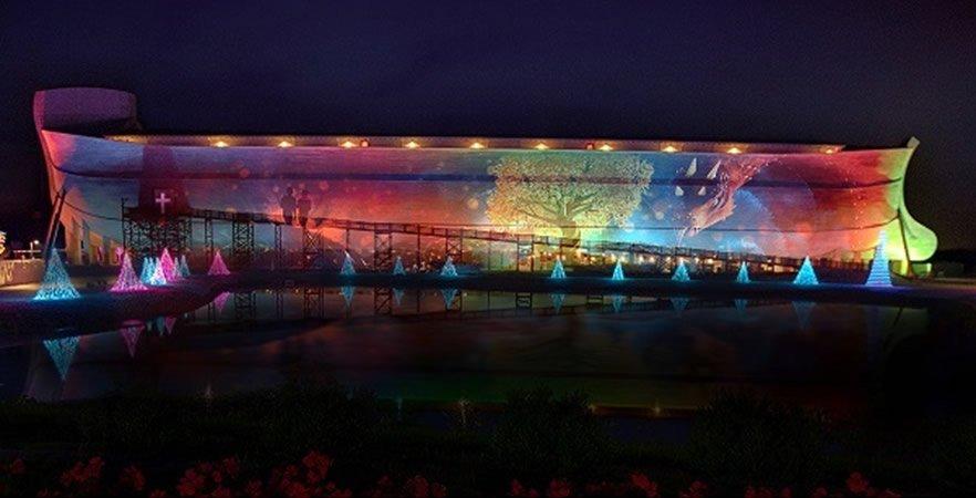 Ark Encounter 3D Projection