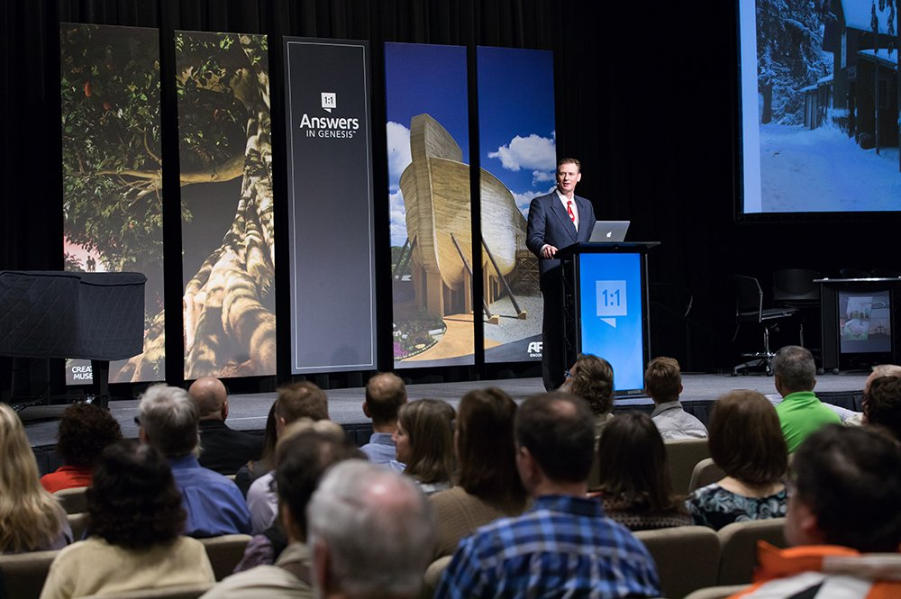 Calvin Smith Speaking at the Creation Museum