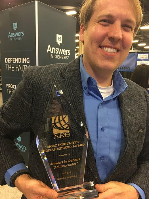 AiG Receives NRB Award