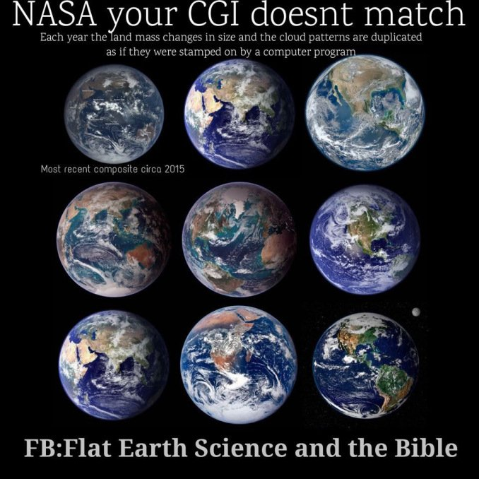 NASA's Fake Earth