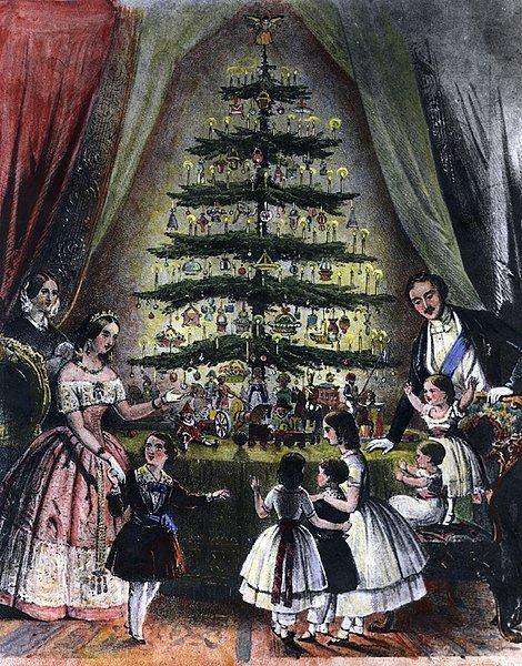 Christmas tree 1848