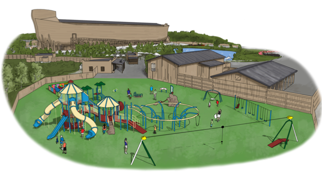 New Playground at the Ark Encounter