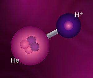 Helium Hydride Illustration