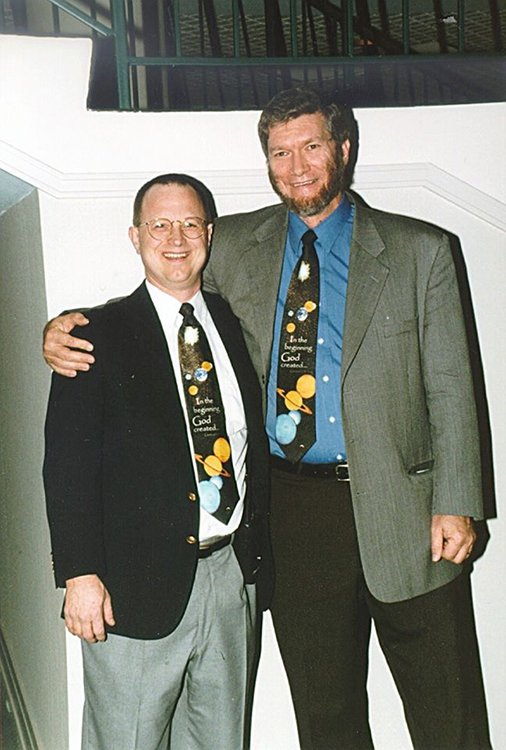 Ken Ham and Dr. Tommy Mitchell