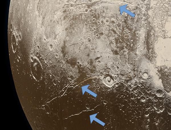 Pluto Faults