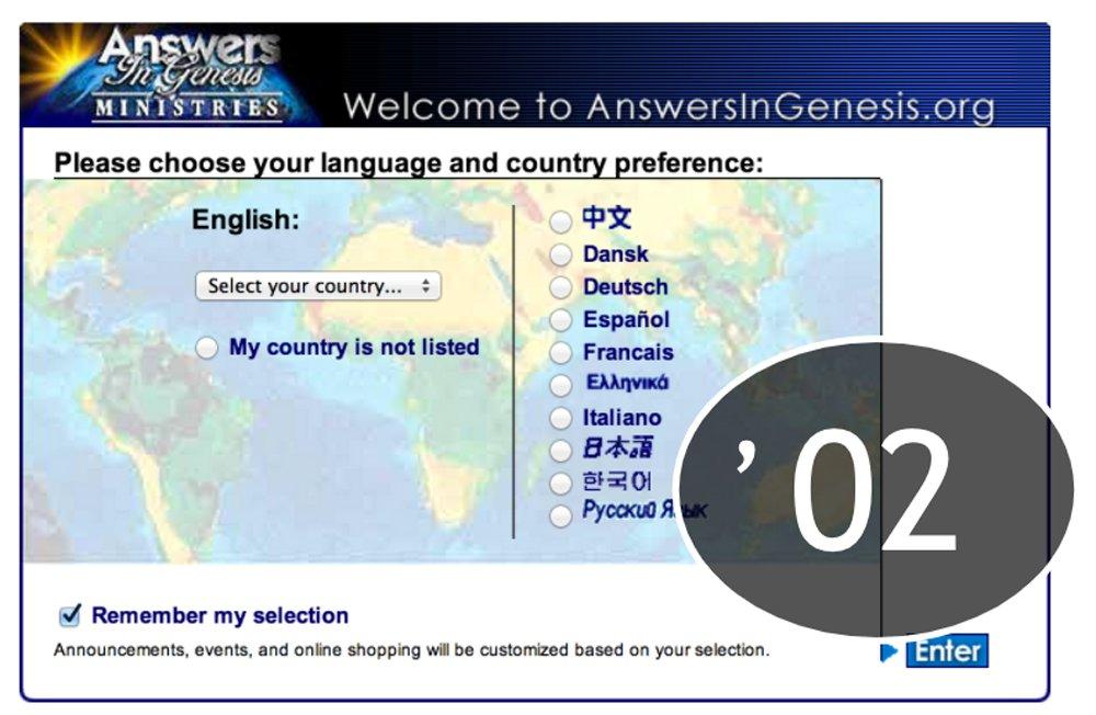 AnswersinGenesis.org 2002