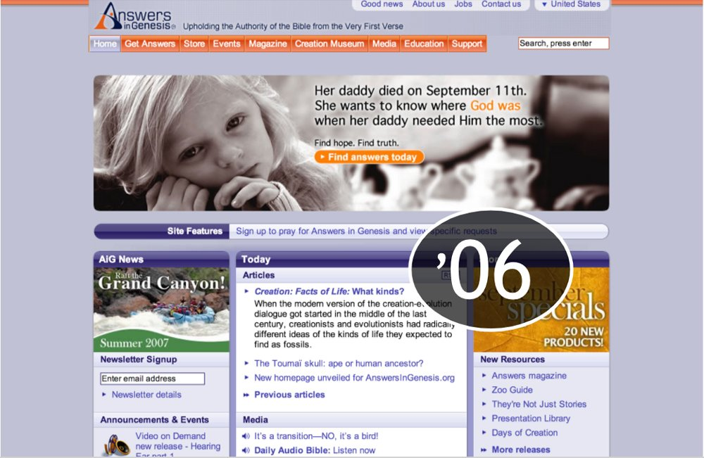 AnswersinGenesis.org 2006