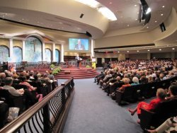 Ken Ham speaking at First Baptist Church, Atlanta, GA