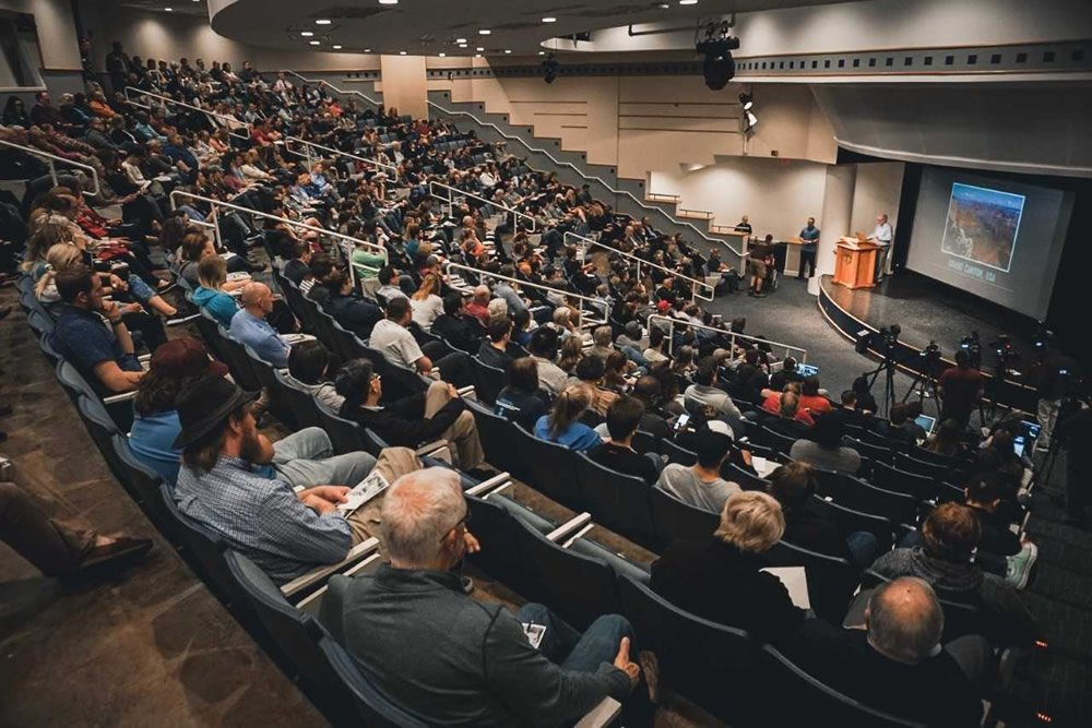 Ken Ham Lecturing at the University of Central Oklahoma