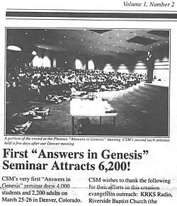 AiG June 1994 newsletter