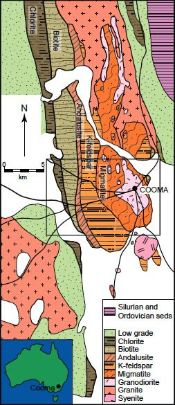 The Cooma metamorphic complex, southeastern Australia
