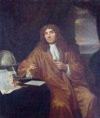 Antonie van Leeuwenhoek by Jan Verkolje