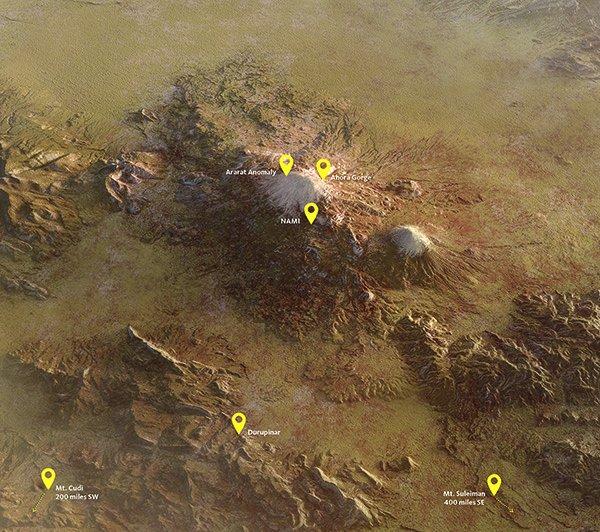 Ararat Region Map