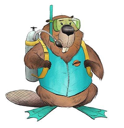 Scuba Beaver
