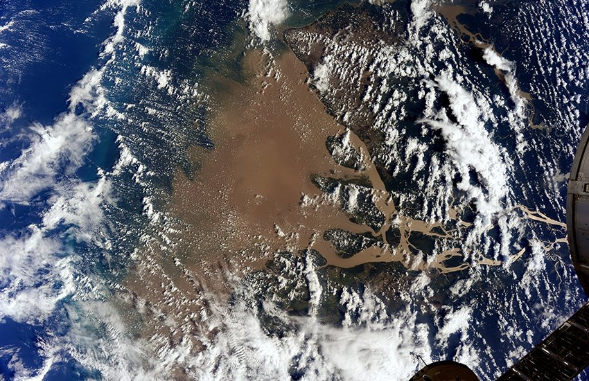 Mouth of the Amazon River.