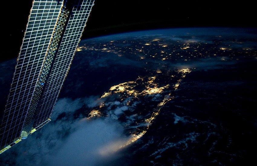 Florida at night.