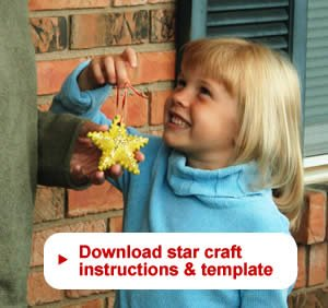 Download star craft instructions and template