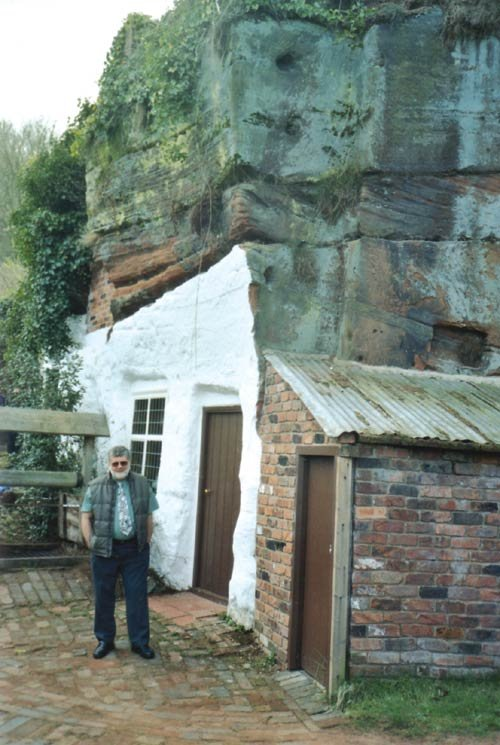 Dr. Monty White at Kinver Edge