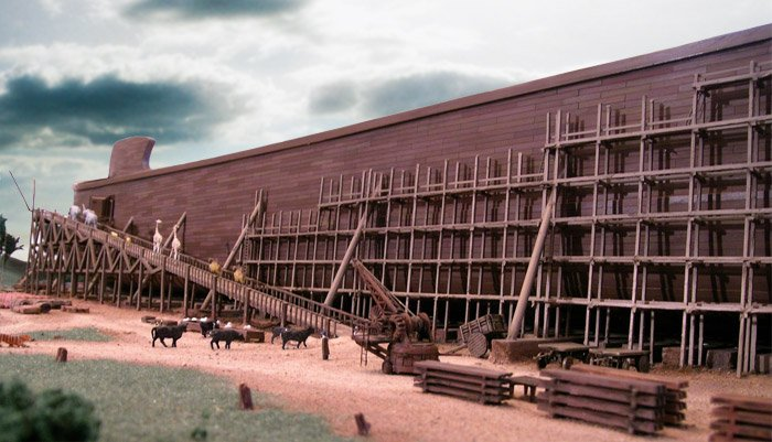 Ark diorama
