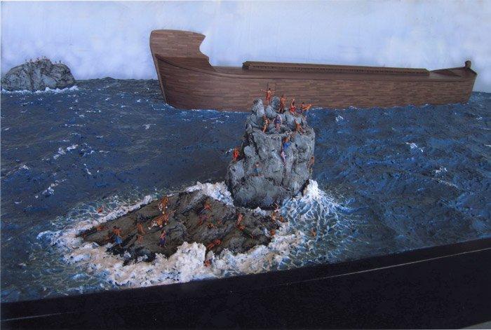 Ark Flood depiction