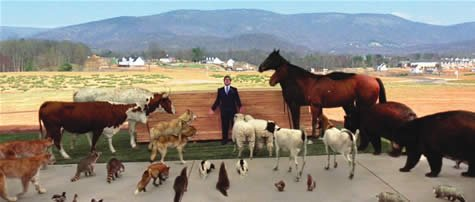 A scene from 'Evan Almighty'